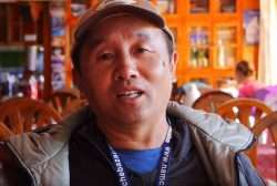Tsedem Sherpa, the man who built Home Away From Home