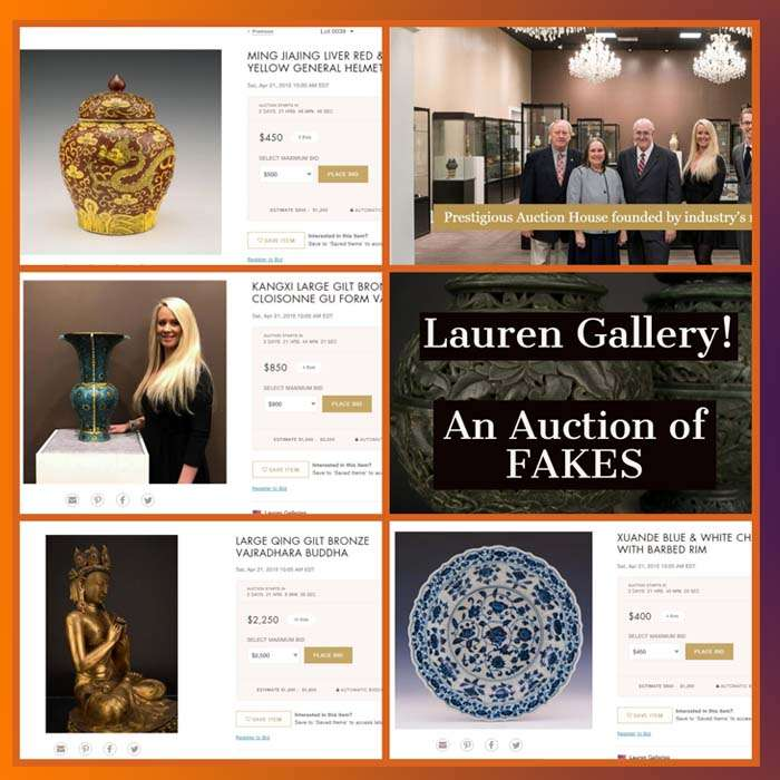 Lauren Gallery Responds To BidAmount Comments | Chinese Fakes