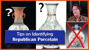 identifying chinese republic period porcelain vases