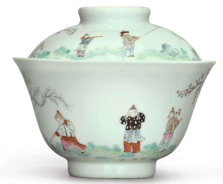 Dauguang Famille Rose bowl
