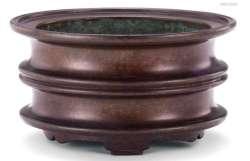 circular ming bronze