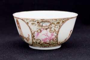 Qianlong Teeschale mit Personen2