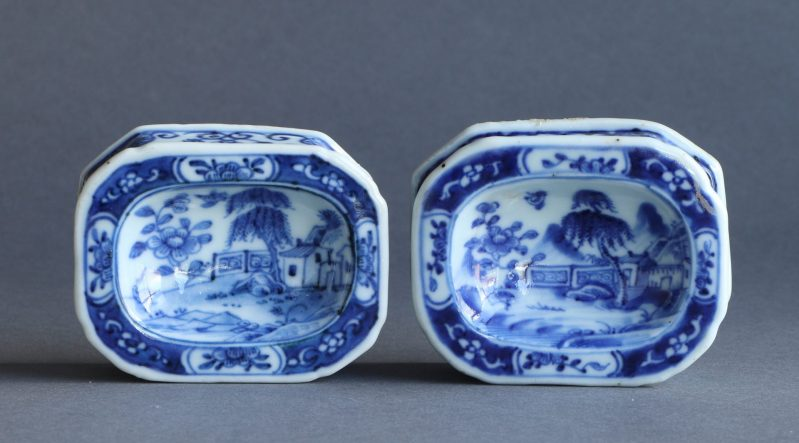 18th C. chinese open salts