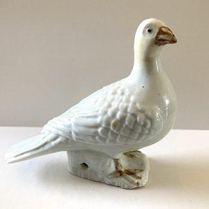 18th Century Chinese Export Blanc de Chine Dove