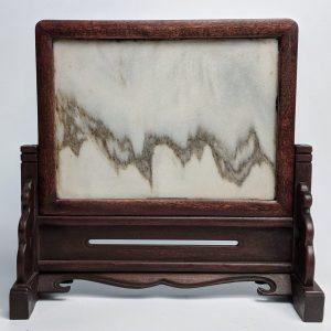 Marble 'Dreamstone' Wood Screen