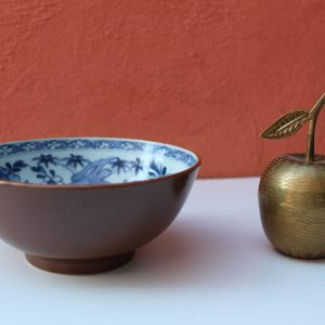 18th Century KANGXI Blue & White Chinese Batavian Bowl Cafe Au Lait