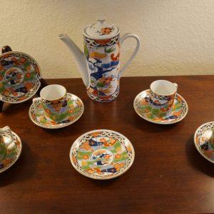 Antique Chinese Porcelain Coffee/Tea Set