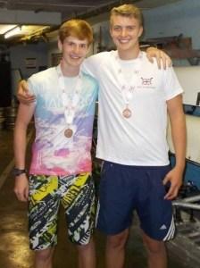 Junior Championships Charle and Nick