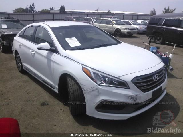 The fact is that the hyundai azera is not selling so well. Hyundai Sonata 2016 White 2 4l Vin 5npe34af6gh351550 Free Car History