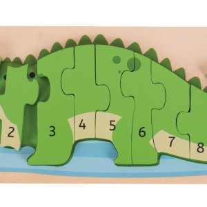 Puzzle Crocodile : j'apprends à compter