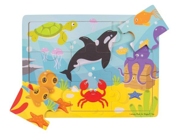 Puzzle 9 pièces mer