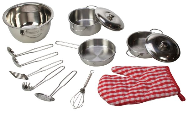 Set de cuisine, manique, casserole