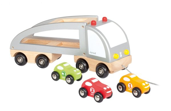 Camion multi bolides, voitures