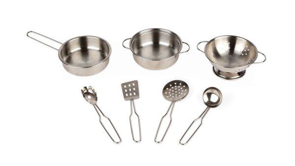Ustensiles de cuisine en acier