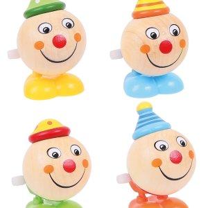 Tête de clown sauteuse