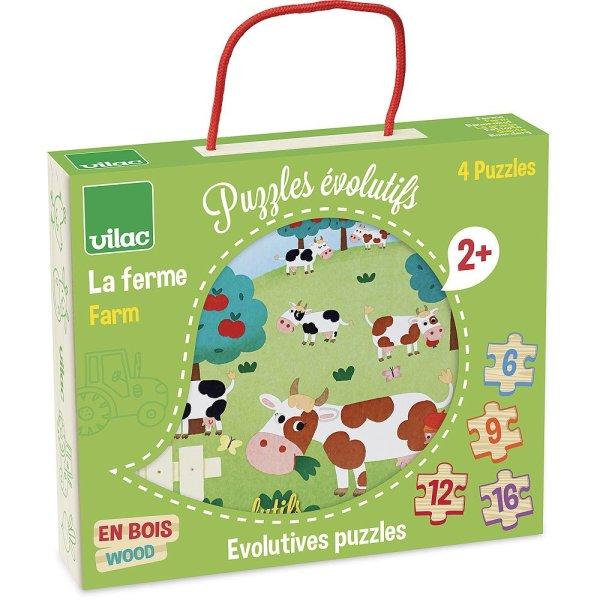 puzzle évolutif ferme