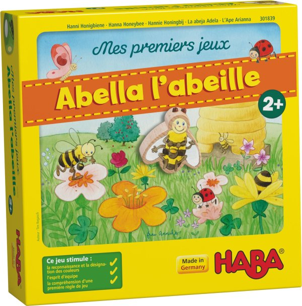 abella l'abeille jeu de coopération
