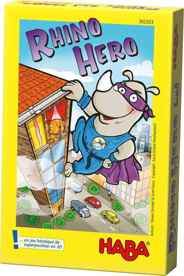 Rhino hero jeu de cartes héroïque