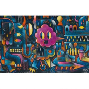 Puzzle Monster Wall 500 Pièces
