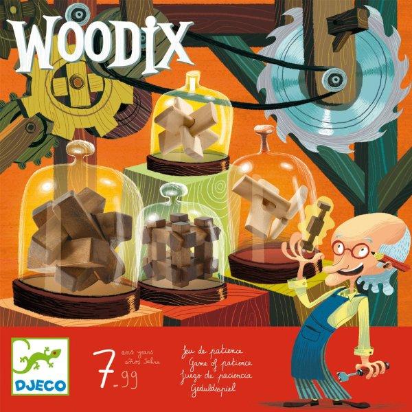 casse tête woodix en bois