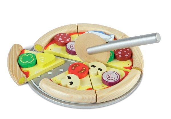 pizza mozzarella découper emporter tidlo bigjigs