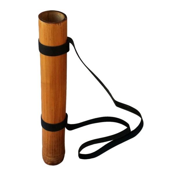 Carquois en Bambou de grande taille avec une sangle pour le tenir