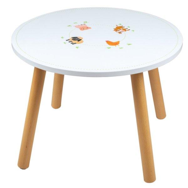 Table ronde Ferme tidlo bigjigs