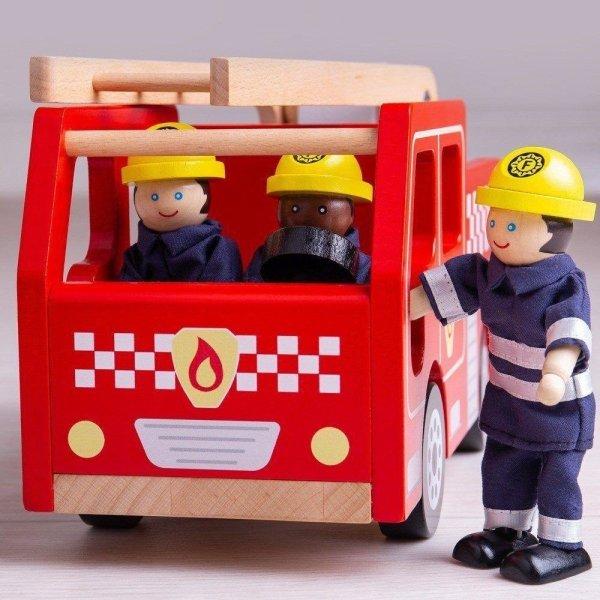 camion de pompier bigjigs