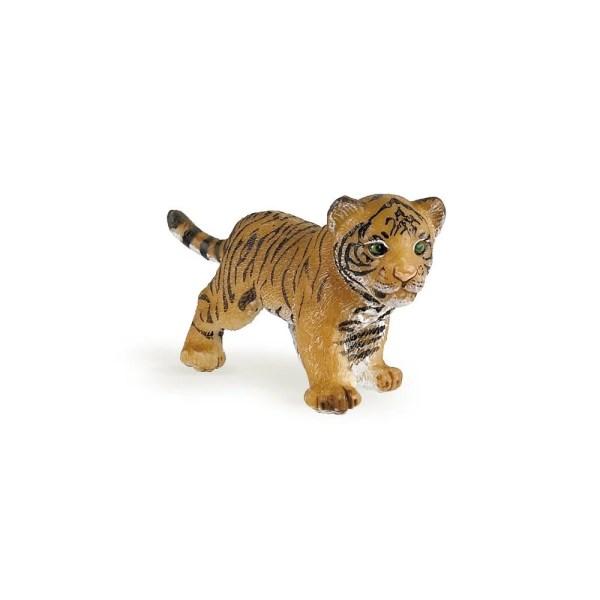 Figurine Les animaux du zoo, Bébé tigre, Papo, Bidiboule