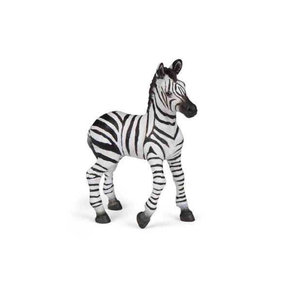 Figurine Les animaux du zoo, Bébé zèbre, Papo, Bidiboule
