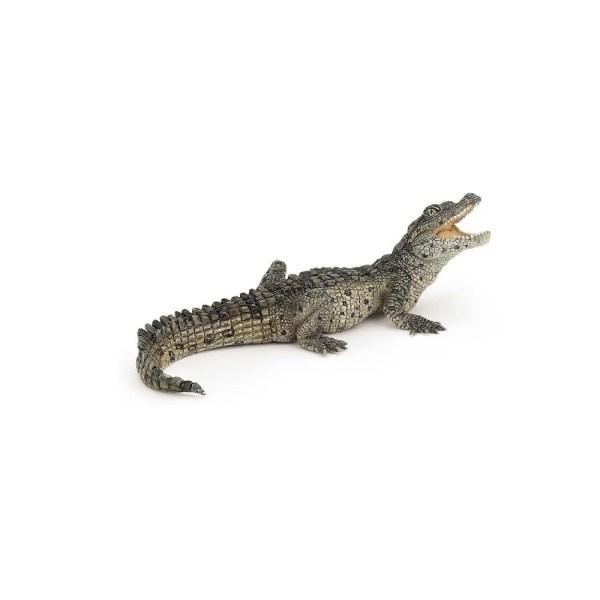 Figurine La vie sauvage, Bébé crocodile, Papo, Bidiboule