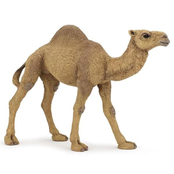 Figurine Les animaux du zoo, Dromadaire, Papo, Bidiboule
