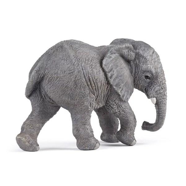 Figurine Les animaux du zoo, Eléphantau, Papo, Bidiboule