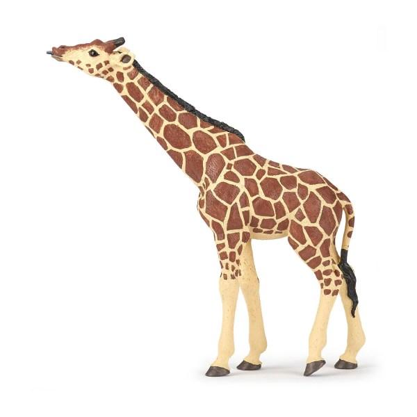 Figurine Les animaux du zoo, Girafe, Papo, Bidiboule