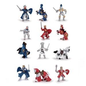 Figurines chevaliers – Tube chevaliers 1