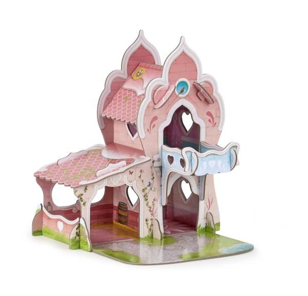 Figurines Monde enchanté, Mini château de princesse, Papo, Bidiboule