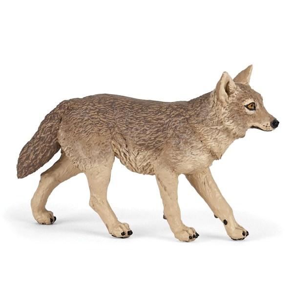 Figurine Les animaux de la forêt, Chacal, Papo, Bidiboule