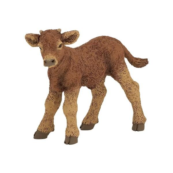 Figurines Animaux de la ferme, Veau Limousin, Papo, Bisiboule