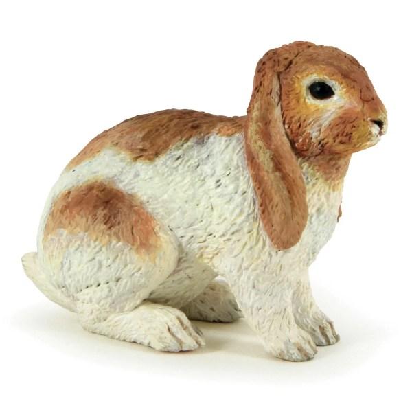 Figurines Animaux de la ferme, Lapin bélier, Papo, Bidiboule