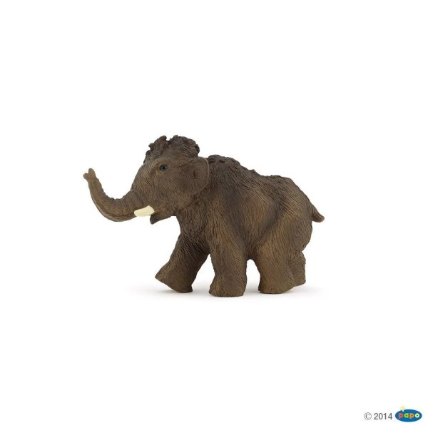 Figurines Dinosaures, Jeune mammouth, Papo, Bidiboule