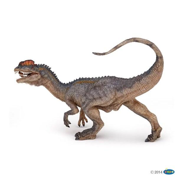 Figurines Dinosaures, Dilophosaure, Papo, Bidiboule