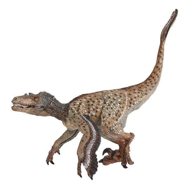 Figurines Dinosaures, Vélociraptor à plumes, Papo, Bidiboule