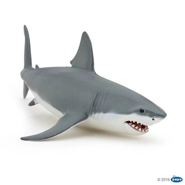 Figurine Univers marin, Requin blanc, Papo, Bidiboule