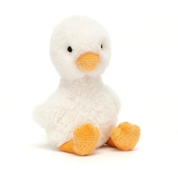 La peluche Diddy Duckling est une peluche très douce en forme de caneton, idéale dès la naissance.