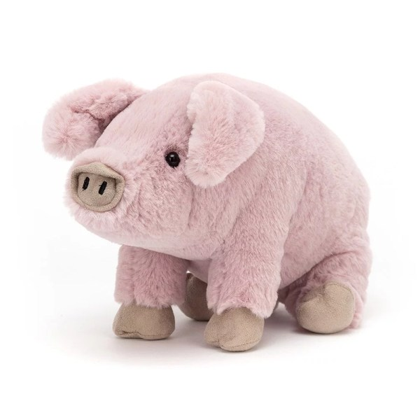 Parker Pig, Peluche, Jellycat, Bidiboule