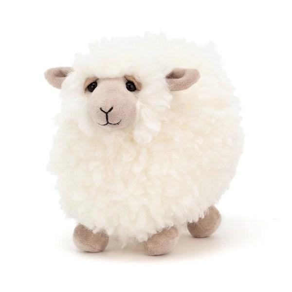 Mouton blanc 18 cm, Peluche, Jellycat, Bidiboule