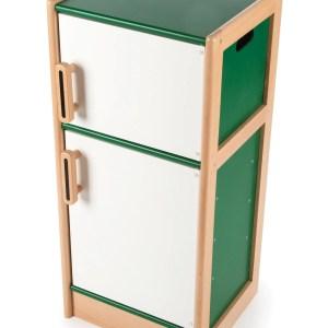 Réfrigérateur frigo en bois
