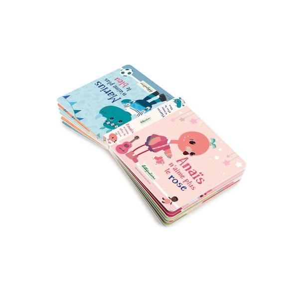 Le livre réversible Anaïs et Marius est un livre en carton pour les enfants à partir de 3 ans.
