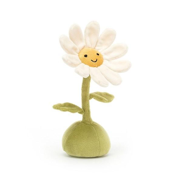 La peluche Fleurette est une peluche originale en forme de fleur qui convient bébés dès la naissance.