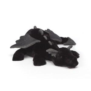 Peluche Onyx Dragon noir